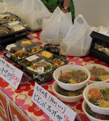 千代田区役所10階食堂フロアで区内飲食店のお弁当販売を行いました